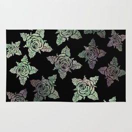 Roses of the Undead Rug