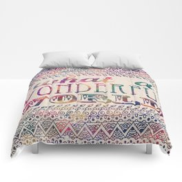 What A Wonderful World Comforters