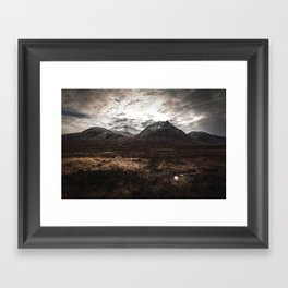 Drive From Loch Ness Framed Art Print