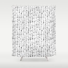 Ancient Japanese Shower Curtain