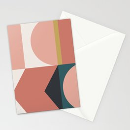 Maximalist Geometric 02 Stationery Cards