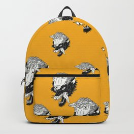 Wolf In Sheeps Clothing Pattern Backpack
