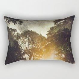 Space took place Rectangular Pillow