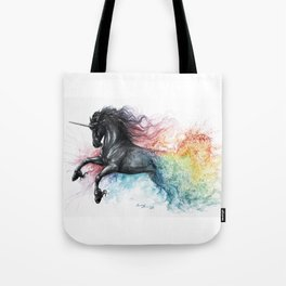 Unicorn dissolving Tote Bag