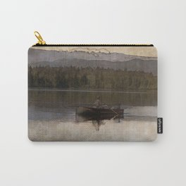 Fishing in Silence Carry-All Pouch