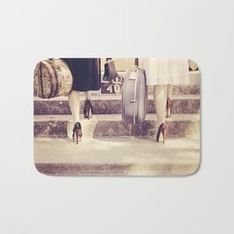Going On Holiday Bath Mat