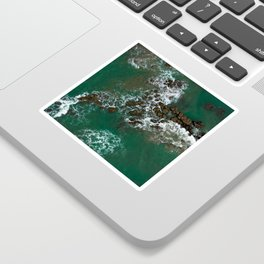 Rocks in the sea Sticker