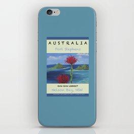 Art Travel Poster Gan Gan iPhone Skin