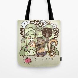 Happy Squirrel Tote Bag