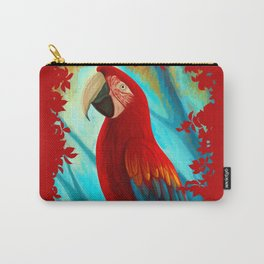 Technicolor Macaw Carry-All Pouch