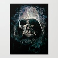 vader Canvas Prints featuring Vader by Sirenphotos