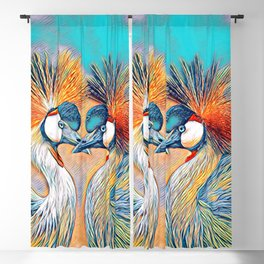 AnimalMix_Bird_004_by_JAMColors Blackout Curtain