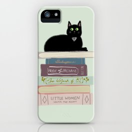 Books & Cats iPhone Case