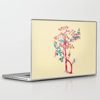 asian Laptop & iPad Skins featuring Asian Tree by Mimi Matloob Designs