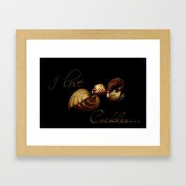 Cockles Framed Art Print