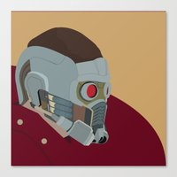 starlord Canvas Prints featuring Starlord by AWAL