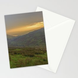 Cumbrian Sunset. Stationery Cards
