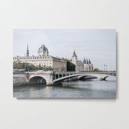 Paris Cityscape Metal Print