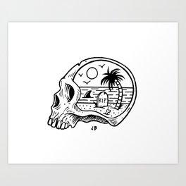 Die-o-rama Art Print