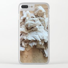 Shredded Chicken Clear iPhone Case