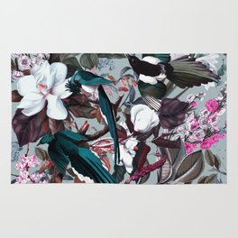Floral and Birds XXIV Rug