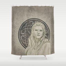 Lagertha Shower Curtain