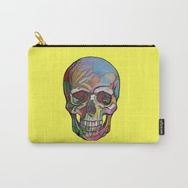 The Happy Skull (Yelow) Carry-All Pouch