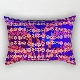 Snowflake's carneval Rectangular Pillow