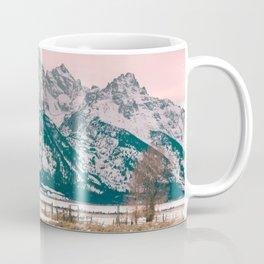 Grand Tetons Barn Coffee Mug