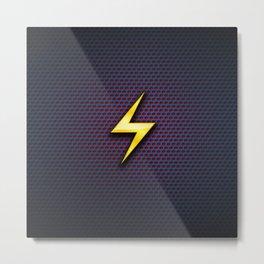 flash logo Metal Print
