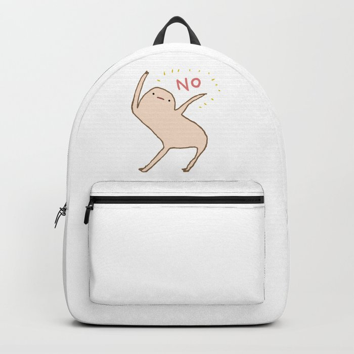 Honest Blob Says No Rucksack