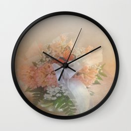 Out of Focus Spring Dreams Wall Clock