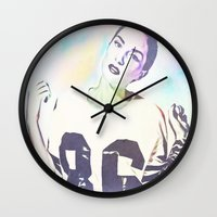 indiana Wall Clocks featuring Indiana by Enna