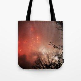 Glowing sky Tote Bag