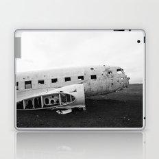 Iceland Plane Wreckage DC-3 Laptop & iPad Skin