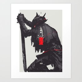 Farewell, good hunter Art Print