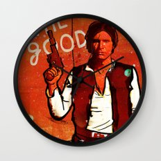 The Good, The Bad & The Ugly: Star Wars Wall Clock