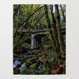Chuckanut Drive Bridge Poster