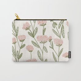 Rose Garden Pattern Carry-All Pouch