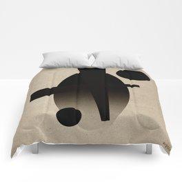 Geometric composition 2 Comforters