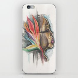 woman of paradise iPhone Skin