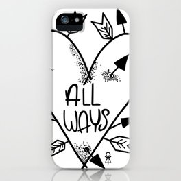 All Ways iPhone Case