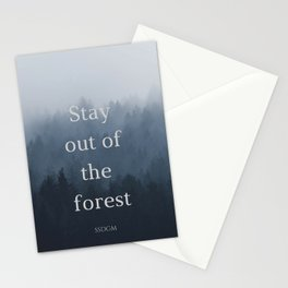 Stay Sexy Don't Get Murdered Stationery Cards