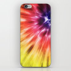 Colorful Starburst Tie Dye iPhone & iPod Skin