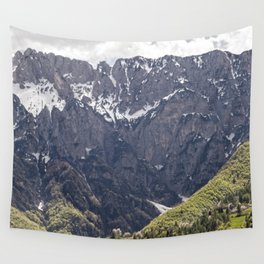 Dolomite Mountains Italy Wall Tapestry