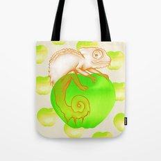 Caramel Chameleon Tote Bag