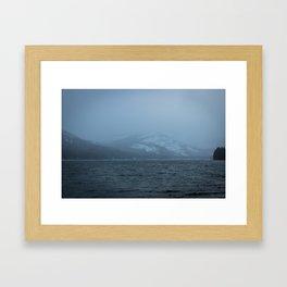 Donner Lake, CA Framed Art Print