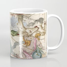 Vintage Constellation Map - Star Atlas Coffee Mug