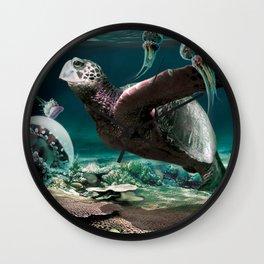 Sea Light Wall Clock
