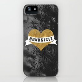 Hunksicle iPhone Case